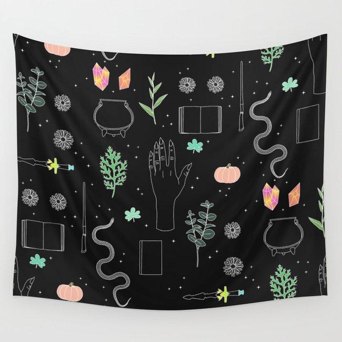 Witch Starter Kit: Potion - Illustration Wall Tapestry