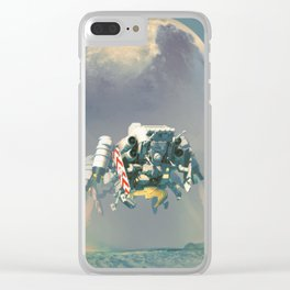 Landing Sequence Clear iPhone Case