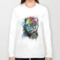 sad Long Sleeve T-shirts featuring Sad by Irmak Akcadogan