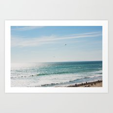 Malibu Dreaming, No. 2 Art Print
