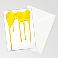 Yellow Splatter Stationery Cards
