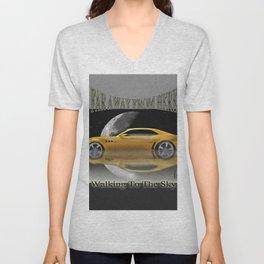 Camaro-Yellow Sport Unisex V-Neck