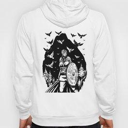 Shield Maiden of Ravens Hoody