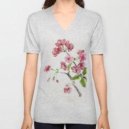 La Fleur de Malus Unisex V-Neck