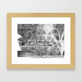Homage to Ravillious  Framed Art Print