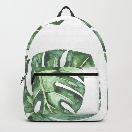 Monstera #society6 Backpack