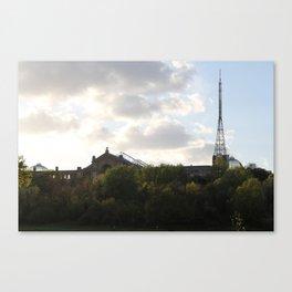 Alexandra palace. Canvas Print