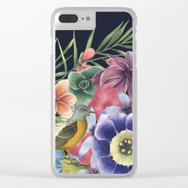 ENJOY TODAY Clear iPhone Case