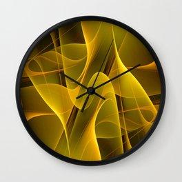 MellowYellow Wall Clock