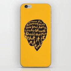 Inside Harrys Head iPhone & iPod Skin