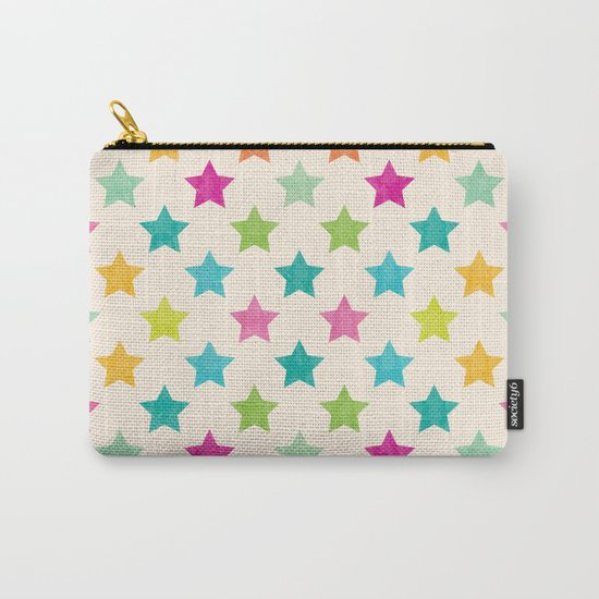 Colorful Star Carry-All Pouch