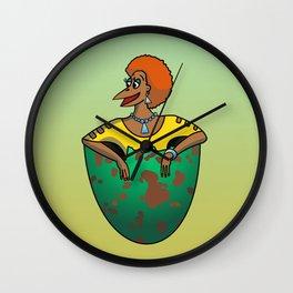 The Num Nums - Sheila Wall Clock