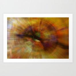 Sun Spin Art Print