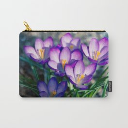 Crocus is the present of spring Carry-All Pouch