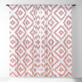 Sunset Diamonds Sheer Curtain