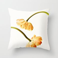 French Tulips Throw Pillow