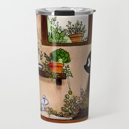 Suie and mouse Travel Mug