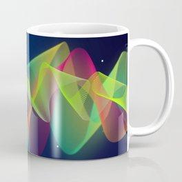 Equalizer Sound Waves Coffee Mug