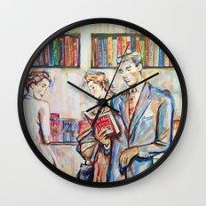 Vintage boy Wall Clock