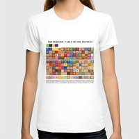muppets T-shirts featuring The Periodic Table of the Muppets by Mike Boon