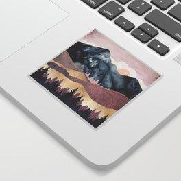 Mauve Vista Sticker