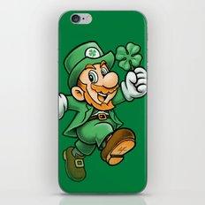 Lucky Mario iPhone & iPod Skin