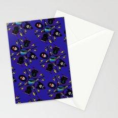 pop pattern_heavy metal Stationery Cards