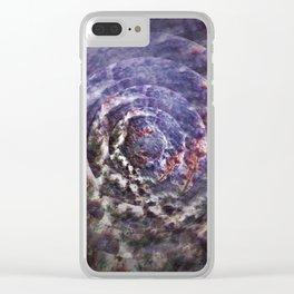 Mystic circle Clear iPhone Case