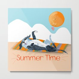 Angel on SummerTime Metal Print