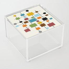 Mid-Century Modern Art 1.3 Acrylic Box
