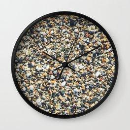 Sea pebble Wall Clock