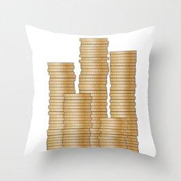 Pieces of Eight Throw Pillow