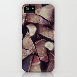 holz iPhone Case