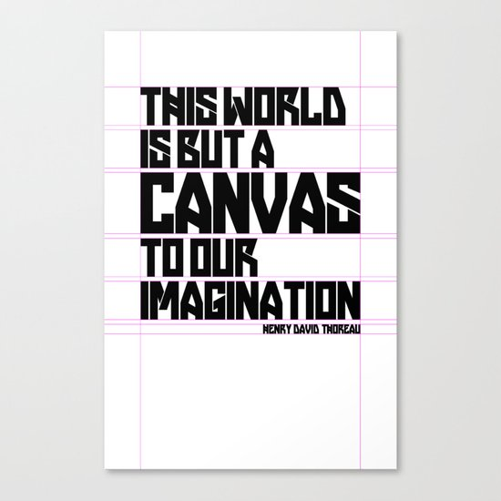 This World... Canvas Print