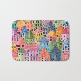 Summer City Bath Mat
