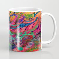 cosmos Mugs featuring Cosmos  by QUEQZZ