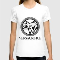 versace T-shirts featuring Versace Parody - Versacrifice by hunnydoll