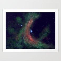 Stellar Wind Art Print