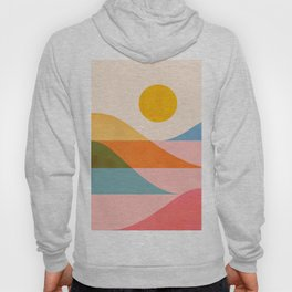 Abstraction_NEW_OCEAN_LAKE_Wonderful_Day_Minimalism_0699A Hoody