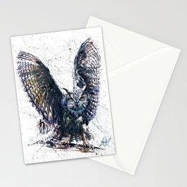 Owl 3 Stationery Cards
