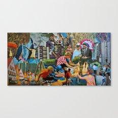 Coral LP Album Artwork Canvas Print