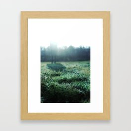 If I Were the Frost... Framed Art Print