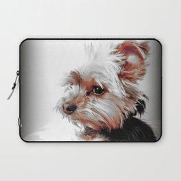 Portrait of a Yorkie | Dogs  Laptop Sleeve