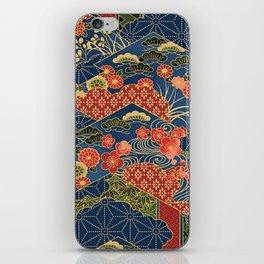 Japan Quilt iPhone Skin