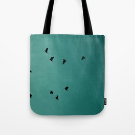On a Wing and a Prayer Tote Bag
