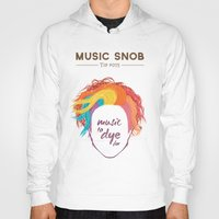 paramore Hoodies featuring MORE Music to DYE for — Music Snob Tip #075.5 by Elizabeth Owens
