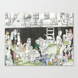 Sewer Canvas Print