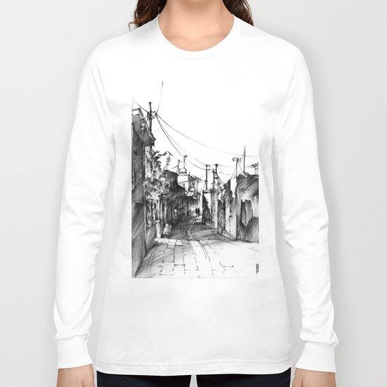 Rhodes backalley Long Sleeve T-shirt