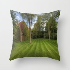 Summer Lines Throw Pillow