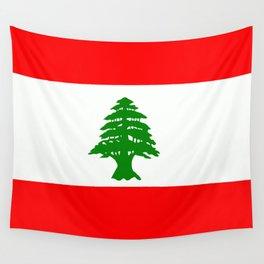 Flag of Lebanon Wall Tapestry